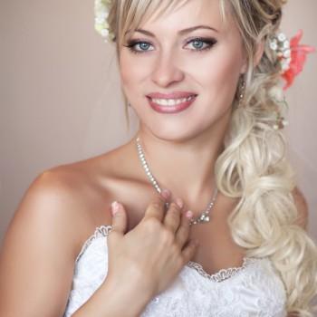 Hochzeits-Frisur